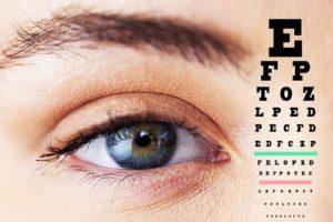 medir la agudeza visual por problemas visuales en el embarazo