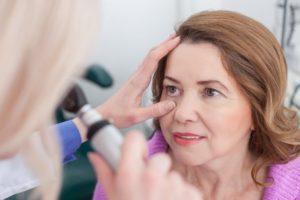 diagnóstico en consulta ofmalmológica