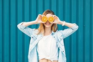 Buena alimentación para tener una buena salud visual